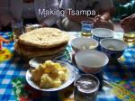 making tsampa