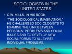 sociologists in the united states12