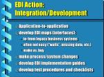 edi action integration development