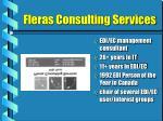 fleras consulting services