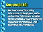successful edi