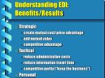 understanding edi benefits results