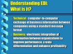 understanding edi what is it