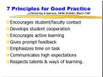 7 principles for good practice chickering gamson aahe bulletin march 1987