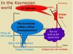 in the keynesian world