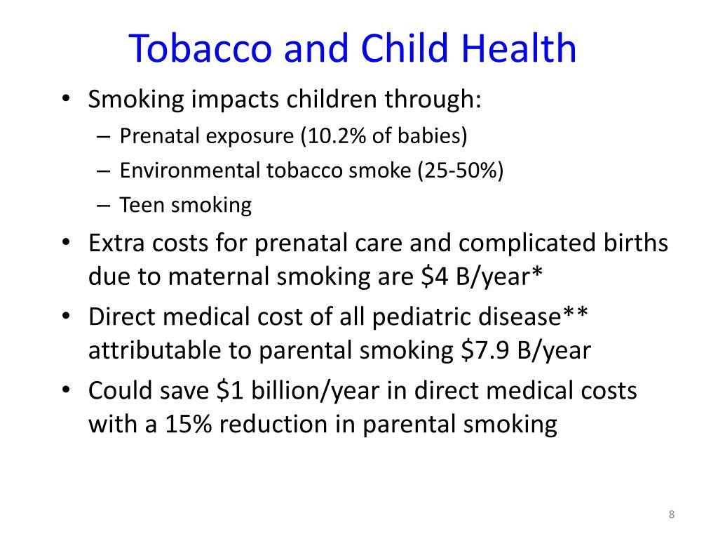 Tobacco and Child Health