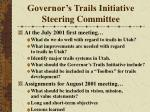 governor s trails initiative steering committee13