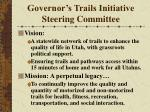 governor s trails initiative steering committee14