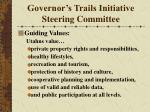 governor s trails initiative steering committee15