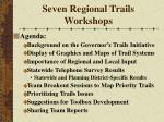 seven regional trails workshops26