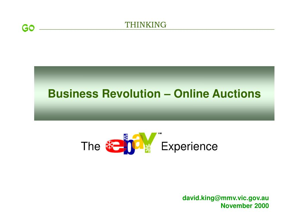 business revolution online auctions l.