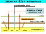 chemick t ba kontaminace