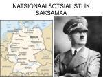 natsionaalsotsialistlik saksamaa