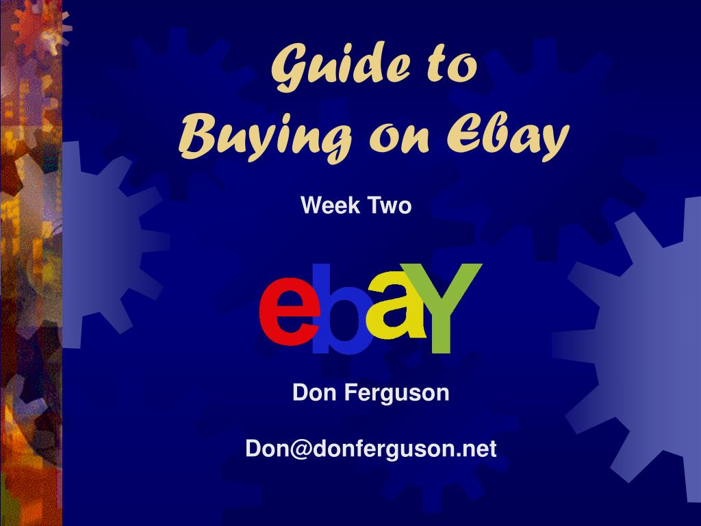 guide to buying on ebay l.