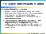 7 1 digital transmission of data9