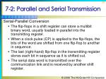 7 2 parallel and serial transmission18