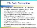7 3 data conversion30