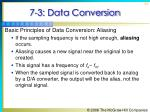 7 3 data conversion32