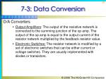 7 3 data conversion36