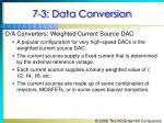 7 3 data conversion40