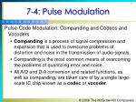 7 4 pulse modulation67