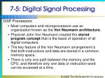 7 5 digital signal processing71