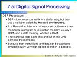 7 5 digital signal processing72