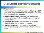 7 5 digital signal processing73