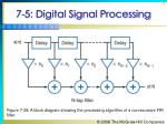 7 5 digital signal processing74