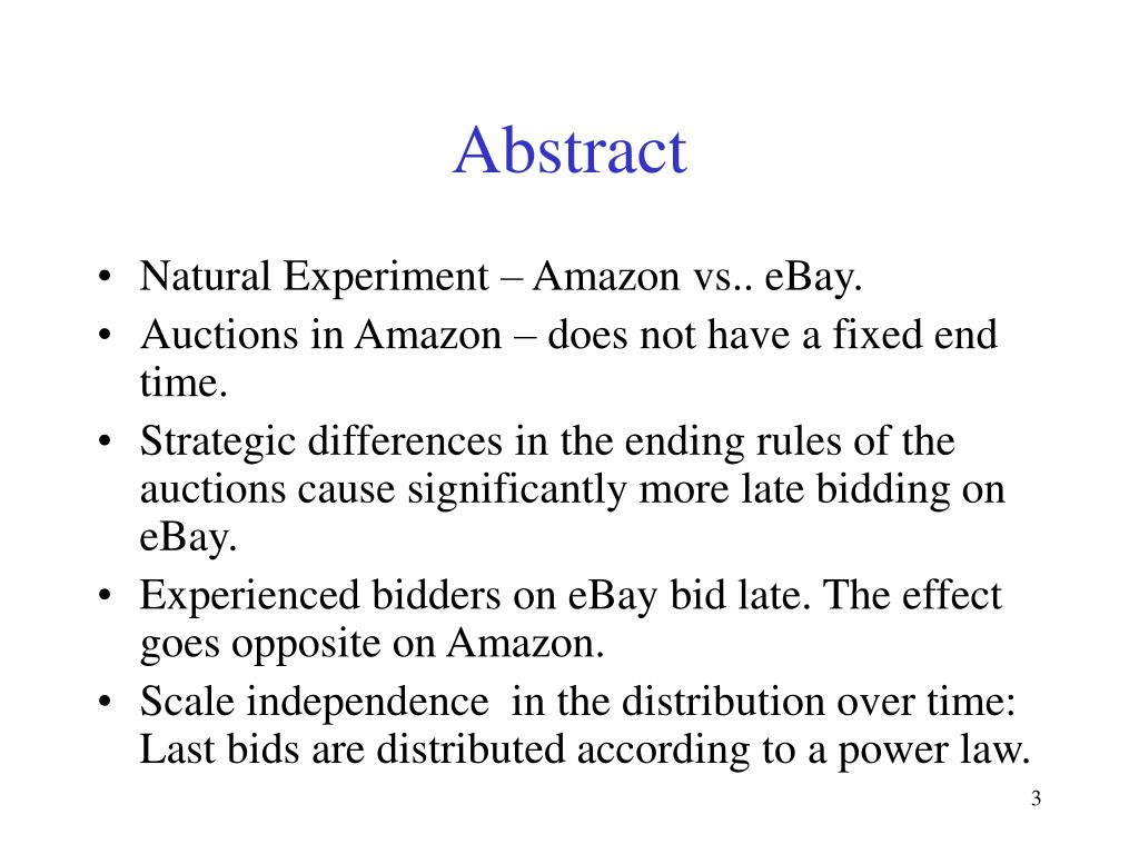 Ppt Last Minute Bidding And The Rules For Ending Second Price Auctions Theory And Evidence From A Natural Experiment On Th Powerpoint Presentation Id 69981