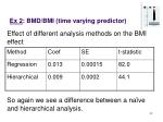 ex 2 bmd bmi time varying predictor32