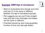 example bmd age at menopause28