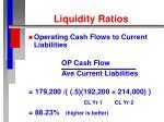 liquidity ratios18