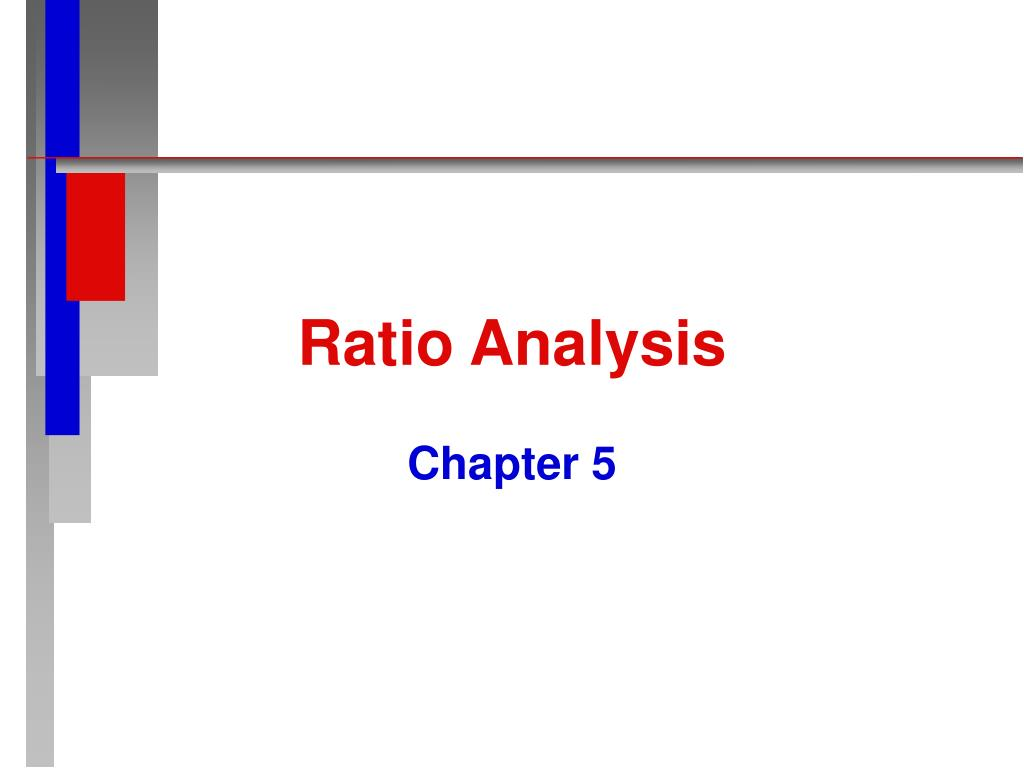 ratio analysis l.