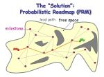 the solution probabilistic roadmap prm1
