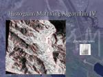 histogram matching algorithm iv
