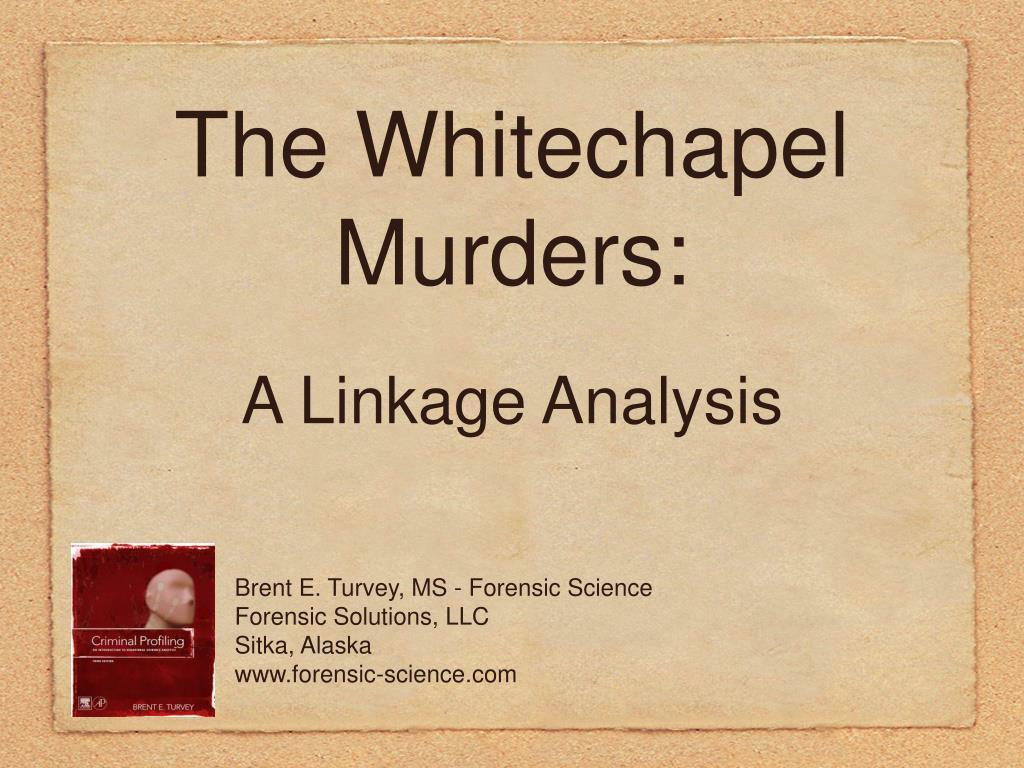 the whitechapel murders l.