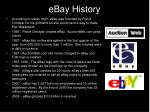 ebay history