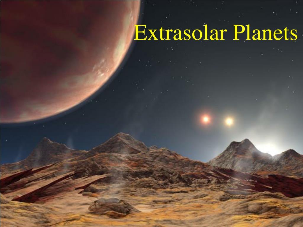 extrasolar planets l.