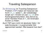 traveling salesperson