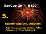 xoncup 2011 r120