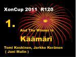 xoncup 2011 r12018