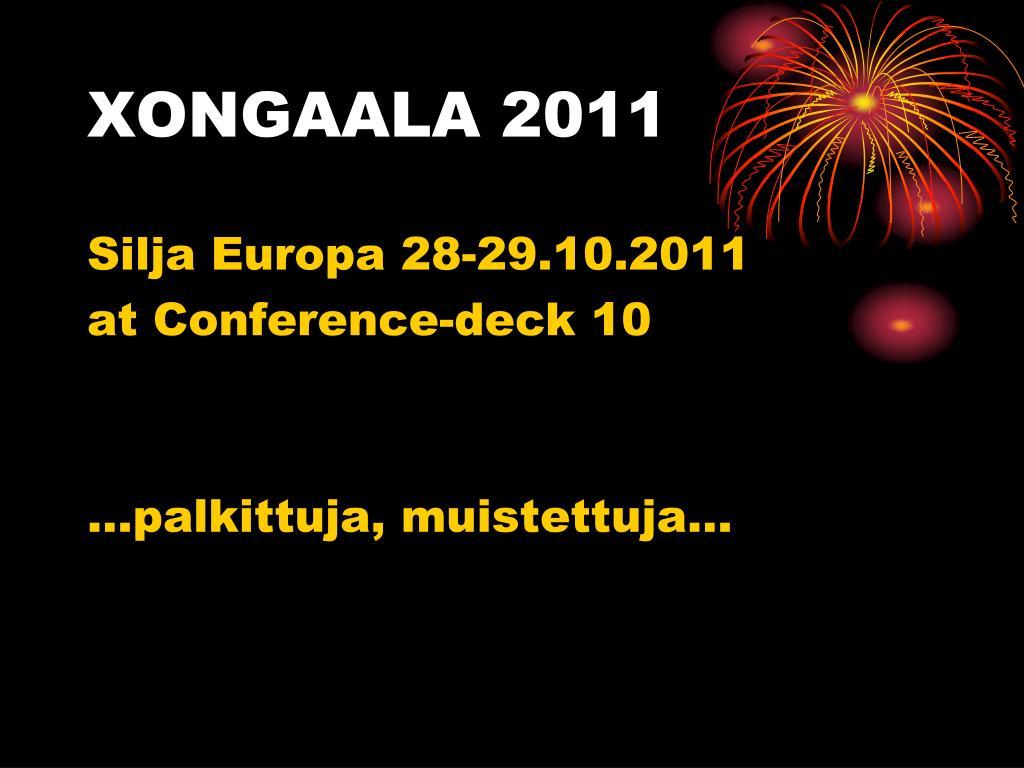 xongaala 2011 l.