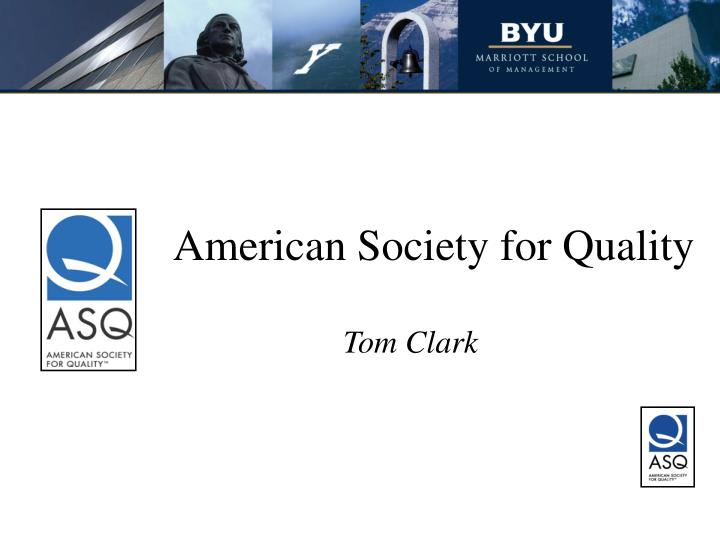 american society for quality n.