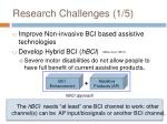 research challenges 1 5