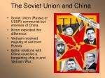 the soviet union and china