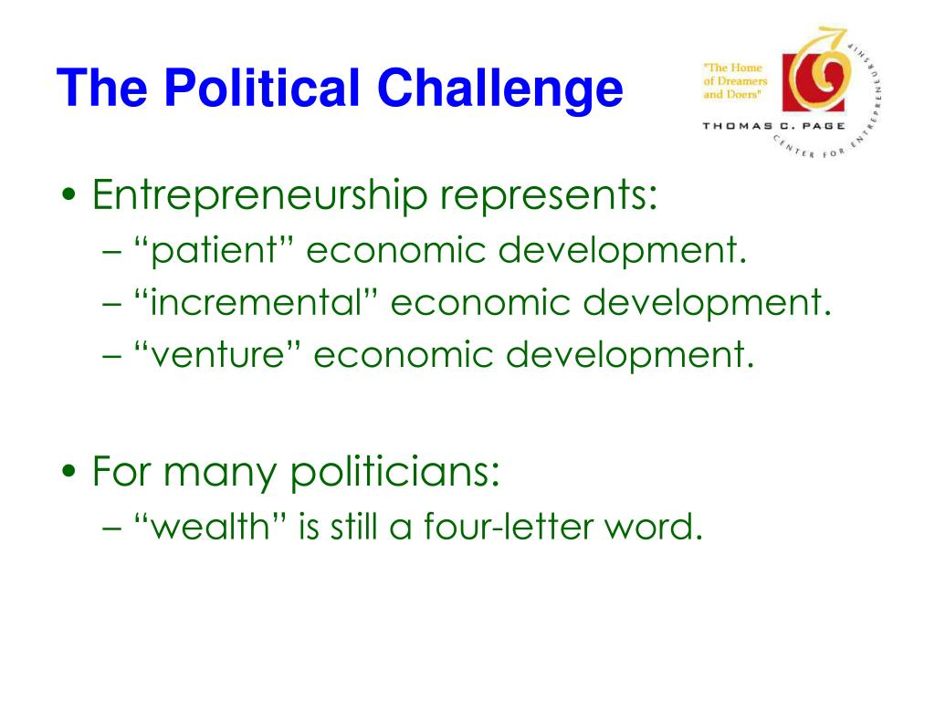 The Political Challenge