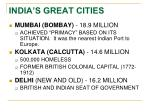 india s great cities