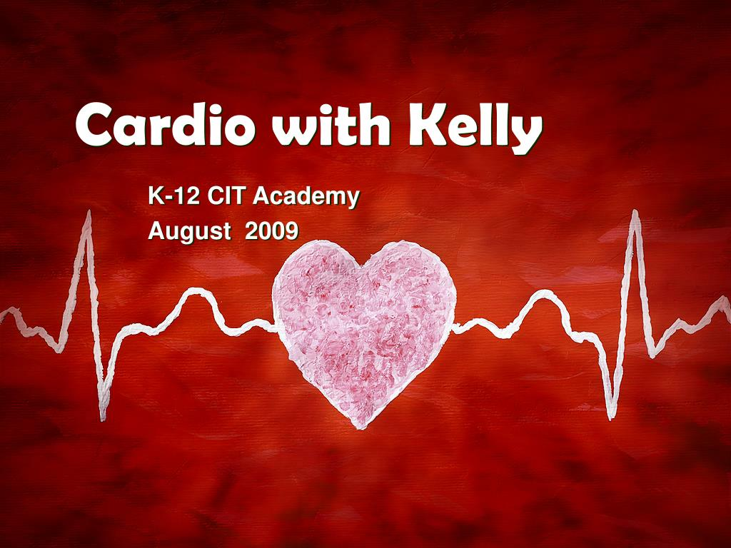 cardio with kelly l.