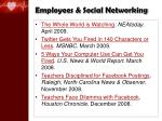 employees social networking